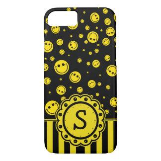 Smiley PolkaDot Monogram iPhone 7 Case