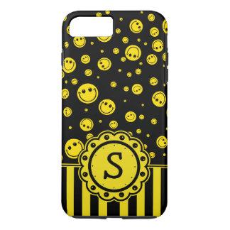 Smiley PolkaDot Monogram iPhone 7 Plus Case