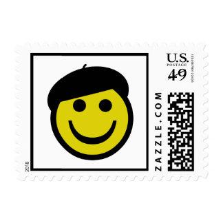 Smiley Postage Stamp