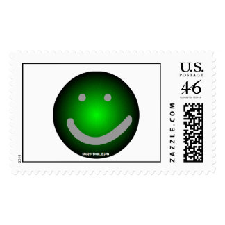 Smiley Postage Stamp
