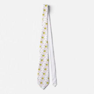 Smiley psico corbata personalizada