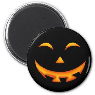 Smiley pumpkin magnets