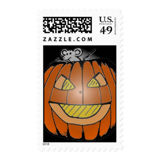 SMILEY PUMPKIN STAMP