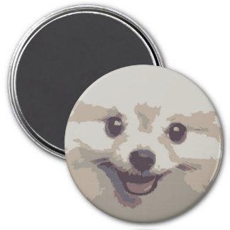 SMILEY PUPPY DOG FRIDGE MAGNET