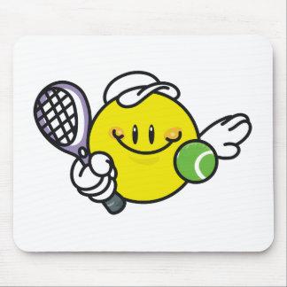 Smiley Racquetball Mouse Mats