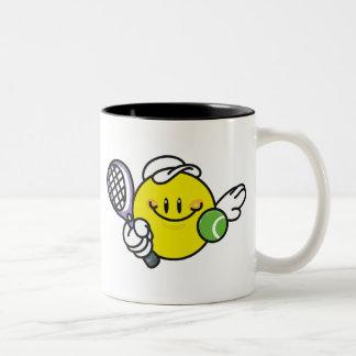 Smiley Racquetball Mug