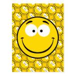 Smiley raro postal