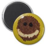 Smiley Refrigerator Magnet