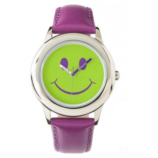 Smiley Reloj De Mano