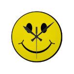 Smiley Reloj De Pared
