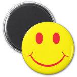 Smiley retro imán