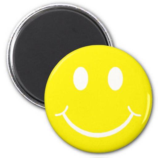 Smiley retro iman