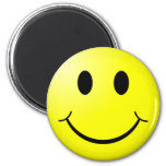 Smiley retro iman de nevera