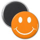 Smiley retro imán para frigorifico