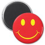 Smiley retro imanes de nevera