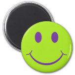 Smiley retro imanes para frigoríficos