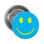 Smiley retro pin