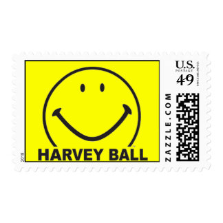 """Smiley Rising"" Postage Stamp"