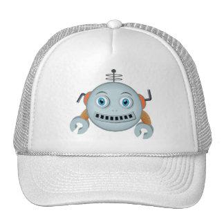 Smiley Robot Trucker Hat