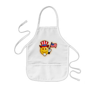 smiley sam kids' apron