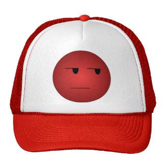 Smiley sí correcto del rojo gorros