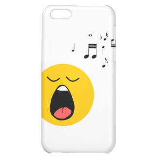 Smiley singer iPhone 5C covers