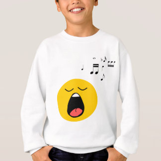 Smiley singer sweatshirt