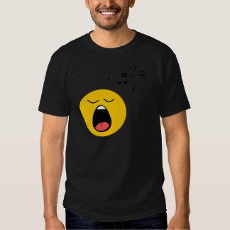 Smiley singer T-Shirt