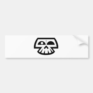 Smiley Skull Bumper Stickers