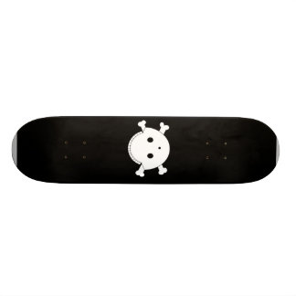 Smiley Skull Gunshot Wound 2 Skateboard Deck