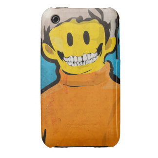 Smiley Skull iPhone 3 Cover