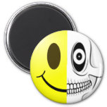 Smiley Skull Magnet