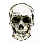 Smiley Skull Post Cards
