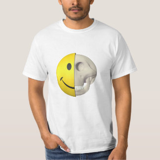Smiley Skull T Shirt