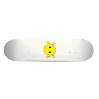 Smiley Skull Yellow Deck