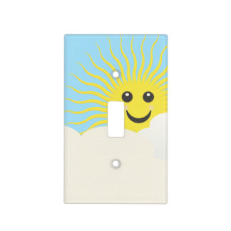 Smiley Sky Light Switch Covers