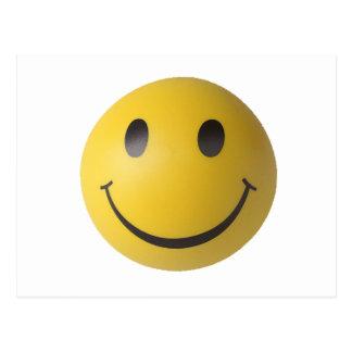 Smiley Smart Expression Smilie Postcard