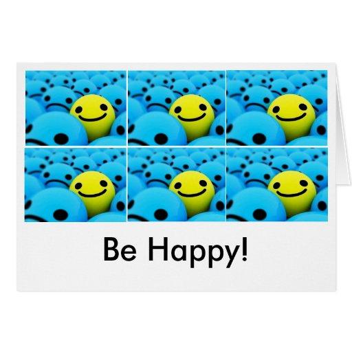 smiley, smiley, smiley, smiley, smiley, smiley,… tarjeta de felicitación