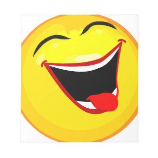 smiley-smilies-happy memo pads