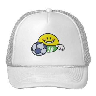 Smiley Soccer T shirts and Gifts Trucker Hat