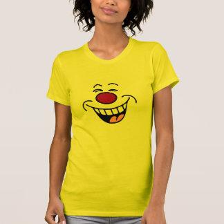 Smiley sonriente de la cara que imita playeras