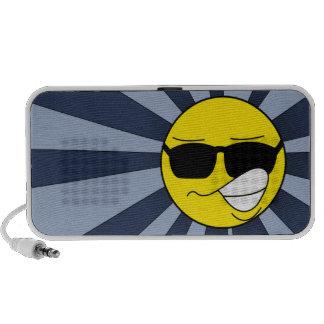smiley iPod speaker
