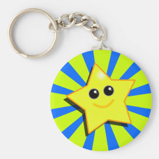 SMILEY STAR Keychain