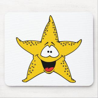 Smiley Starfish the Sea Star Mouse Pad