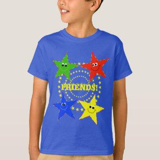 Smiley Stars Friends T-shirt