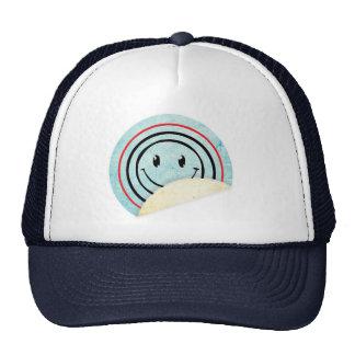 Smiley Sticker Hat