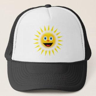 Smiley Sun Trucker Hat