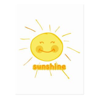 Smiley Sunshine Postcard