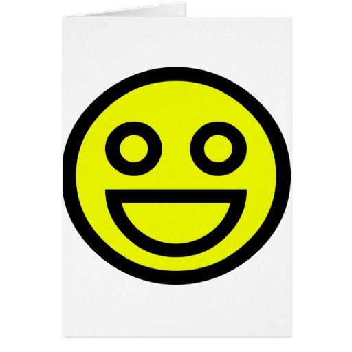 Smiley Tarjeta De Felicitación