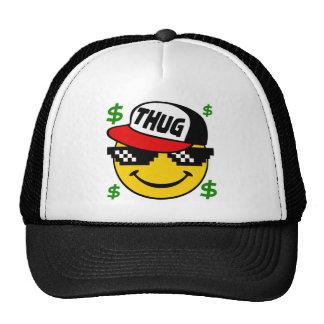 Smiley Thug Emoticon Trucker Hat